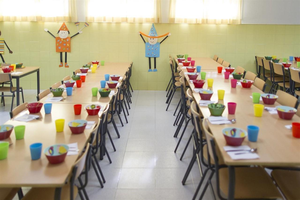 Aberto a partir do 10 de Agosto o prazo para a inscripción no Comedor Escolar