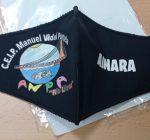 A ANPA Río Lérez entrega as primeiras mascarillas