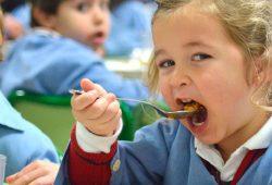 Menús do comedor escolar para outubro do 2021