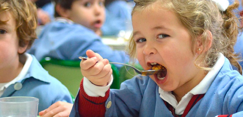 Menús de comedores escolares para xuño de 2021